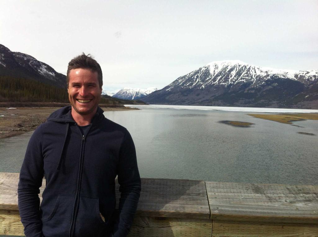 Zac in Whitehorse, Yukon
